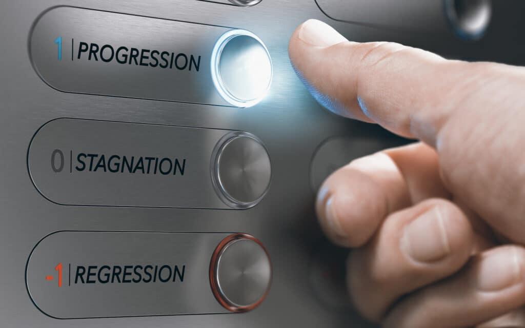 Progression, stagnation, régression